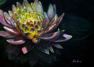 """Debra Wilson's """"Water Lily 1"""""""