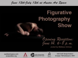 Figurative Photography Show at Austin Art Space, June 13-July 12