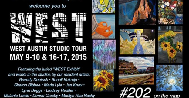 Check out our resident artist studios during the WEST Austin Studio Tour!!