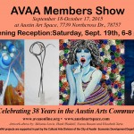 AVAA Members Show Opens Sept. 19th