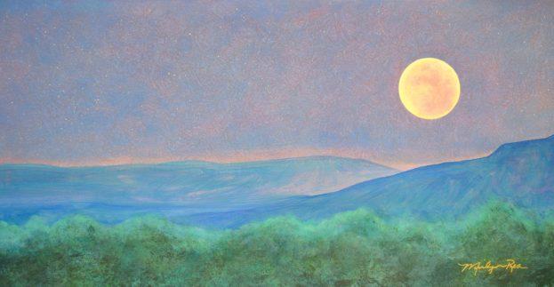 Marilyn Rea Nasky Wolf Moon Rising