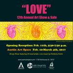 LOVE Show opens this Saturday!