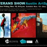 Veterans Art Exhibition Opens Friday November 10th