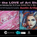 For the LOVE of Art Show – Now on Display!