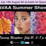 AVAA Summer Show Reception-July 21, 5-7 p.m.