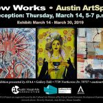 New Works Exhibit On Display – Extended through April 6