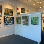 We are open! Stop by to see new art on display